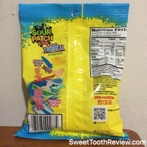 Sour Patch Kids Tropical Nutrition Facts
