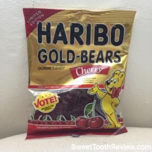 Haribo Gummy Bear Cherry - New Gold Bear Flavors