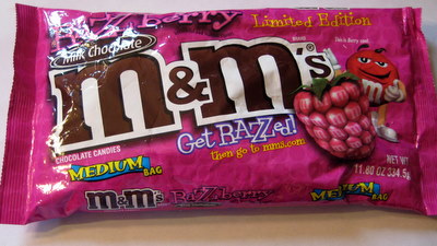 M&M's Razzberry