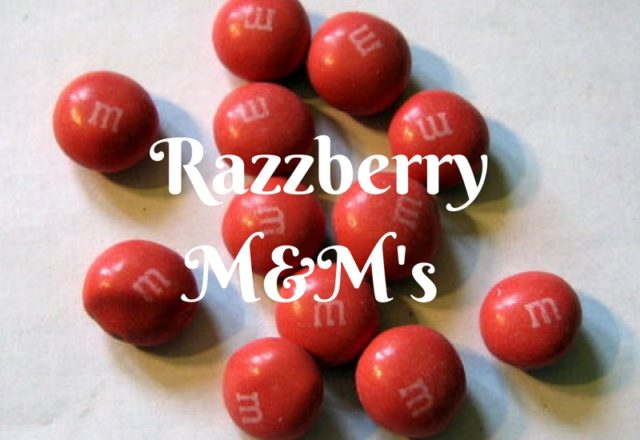 M&M's Razzberry - Review