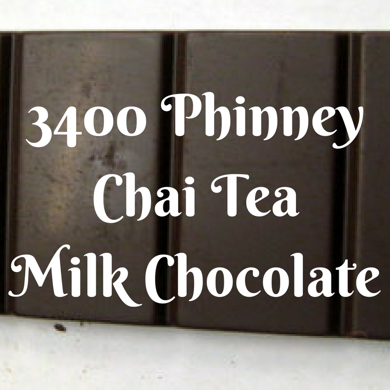 3400 Phinney Chai Tea Milk Chocolate - Review