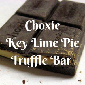 Choxie Key Lime Pie Truffle Bar - Review