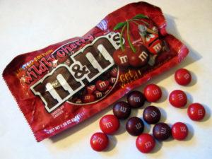 Wildly Cherry M&M's