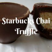 Starbucks Chai Truffle