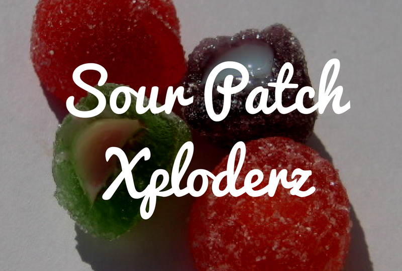Sour Patch Xploderz - Review