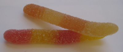 Surf Sweets Super Sour Worms