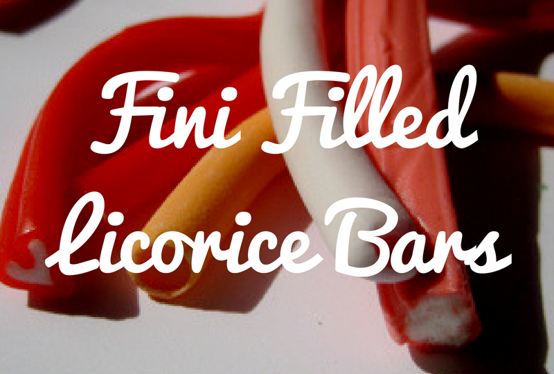 Fini Filled Licorice Bars - From Spain!