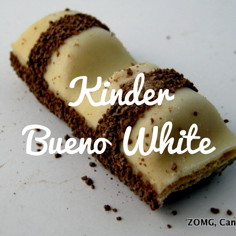 Kinder Bueno White - Review