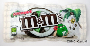 Coconut M&M's