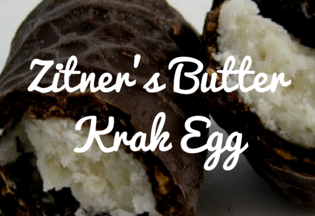 ZItner's Butter Krak Egg - Review