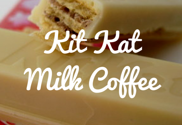 Kit Kat Milk Coffee - Review