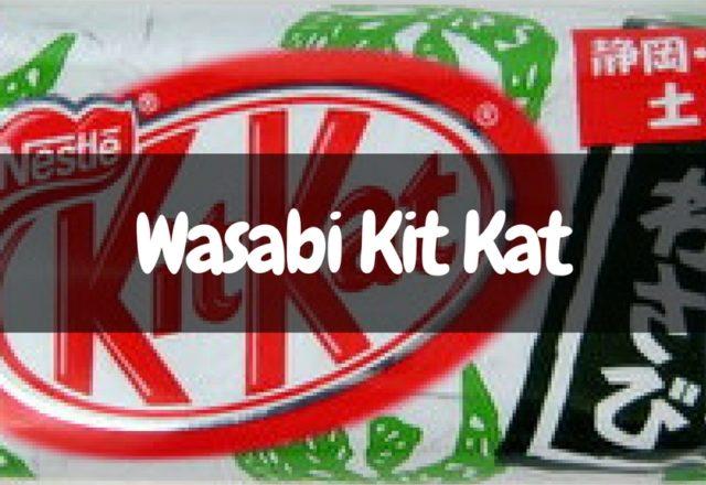 Japanese Kit Kat - Wasabi Flavor