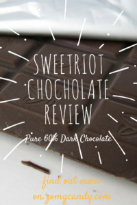 Sweetriot Chocolate - Pure Dark Chocolate 60%