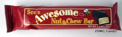 See's Awesome Nut & Chew Bar
