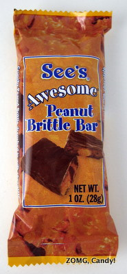 See's Awesome Peanut Brittle Bar