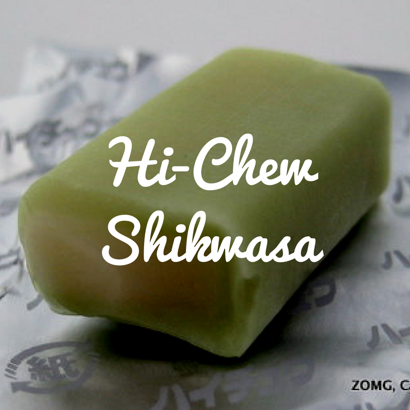 Hi-Chew Shikwasa - Not Lime!