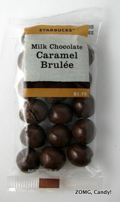 Starbucks Milk Chocolate Caramel Brulee Bites