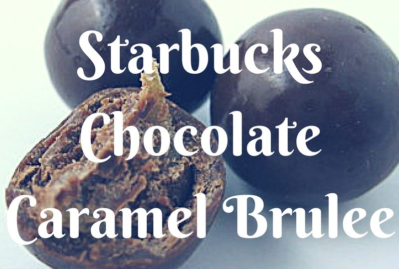 Starbucks Milk Chocolate Caramel Brulee Bites - Review