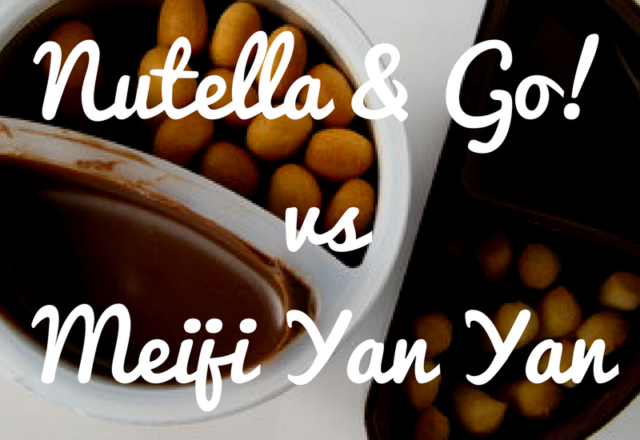 Nutella & Go vs Meiji Yan Yan - Which Snack Pack is Better?