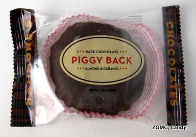 Hammond's Piggy Back - Dark Chocolate Almond & Caramel