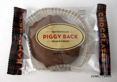 Hammond's Piggy Back - Milk Chocolate Pecan & Caramel