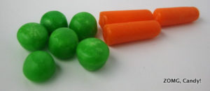 Jelly Belly Peas and Carrots