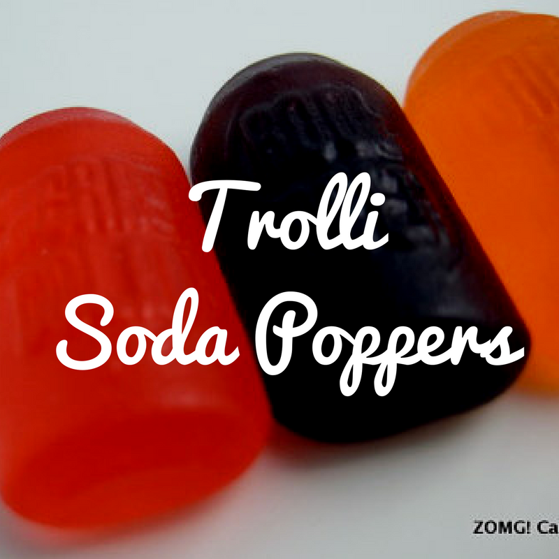 Trolli Soda Poppers - Candy Review
