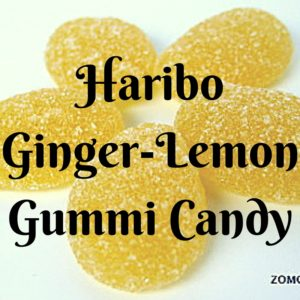 Haribo Ginger Lemon Gummi Candy - Review