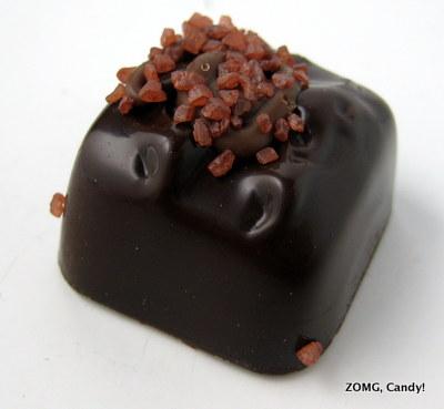 Trader Joe's Dark Chocolate Pumpkin Spice Salted Caramels