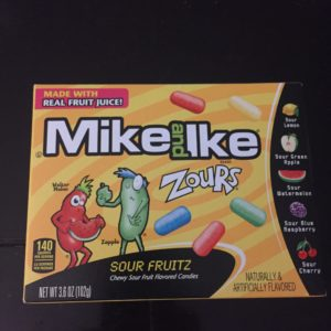 Zours - sour Mike and Ike