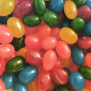 Starburst Sour Jelly Beans flavors