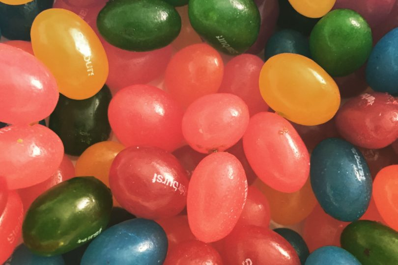 Starburst Jelly Beans flavors