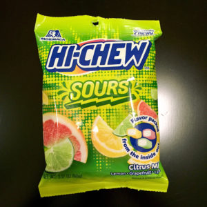 Hi-Chew Sours - Lemon, Lime and Grapefruit flavor