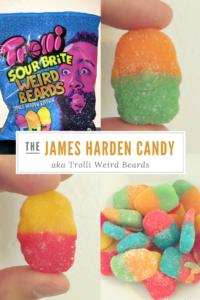James Harden Candy - Trolli Sour Brite Weird Beards