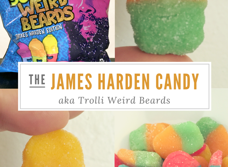 James Harden Candy - Trolli Sour Brite Weird Beards
