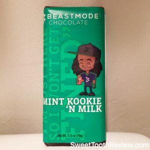 Beastmode Chocolate - Marshawn Lynch Candy - Mint Kookie N Milk