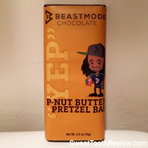 Beastmode Chocolate - Marshawn Lynch Candy - P-Nut Butter Pretzel