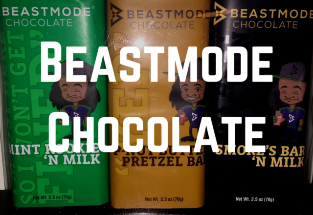 Beastmode Chocolate - Marshawn Lynch Candy Bars