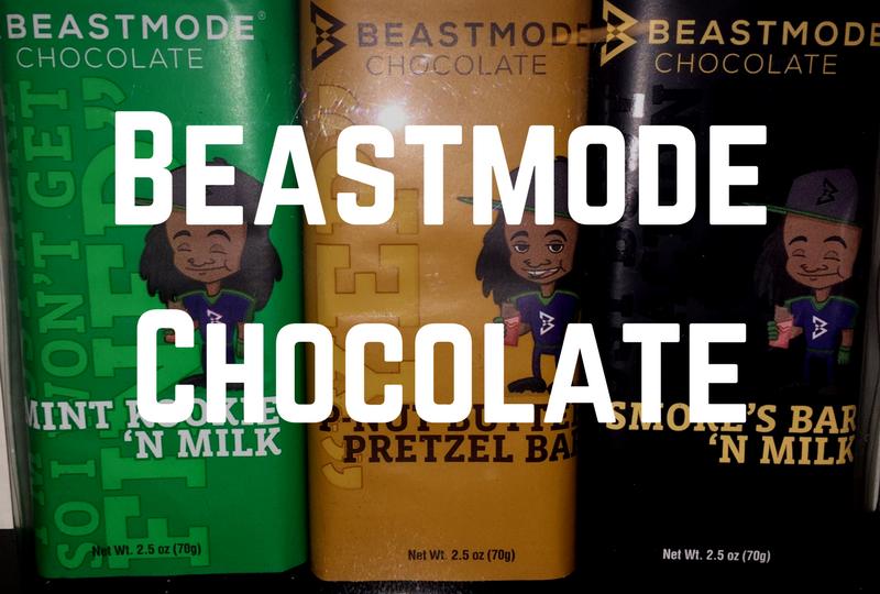 Beastmode Chocolate - Marshawn Lynch Candy Bars