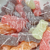 Sour Patch Kids Tropical - Review