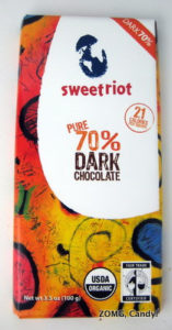 Sweetriot Chocolate - 70% Pure Dark Chocoloate