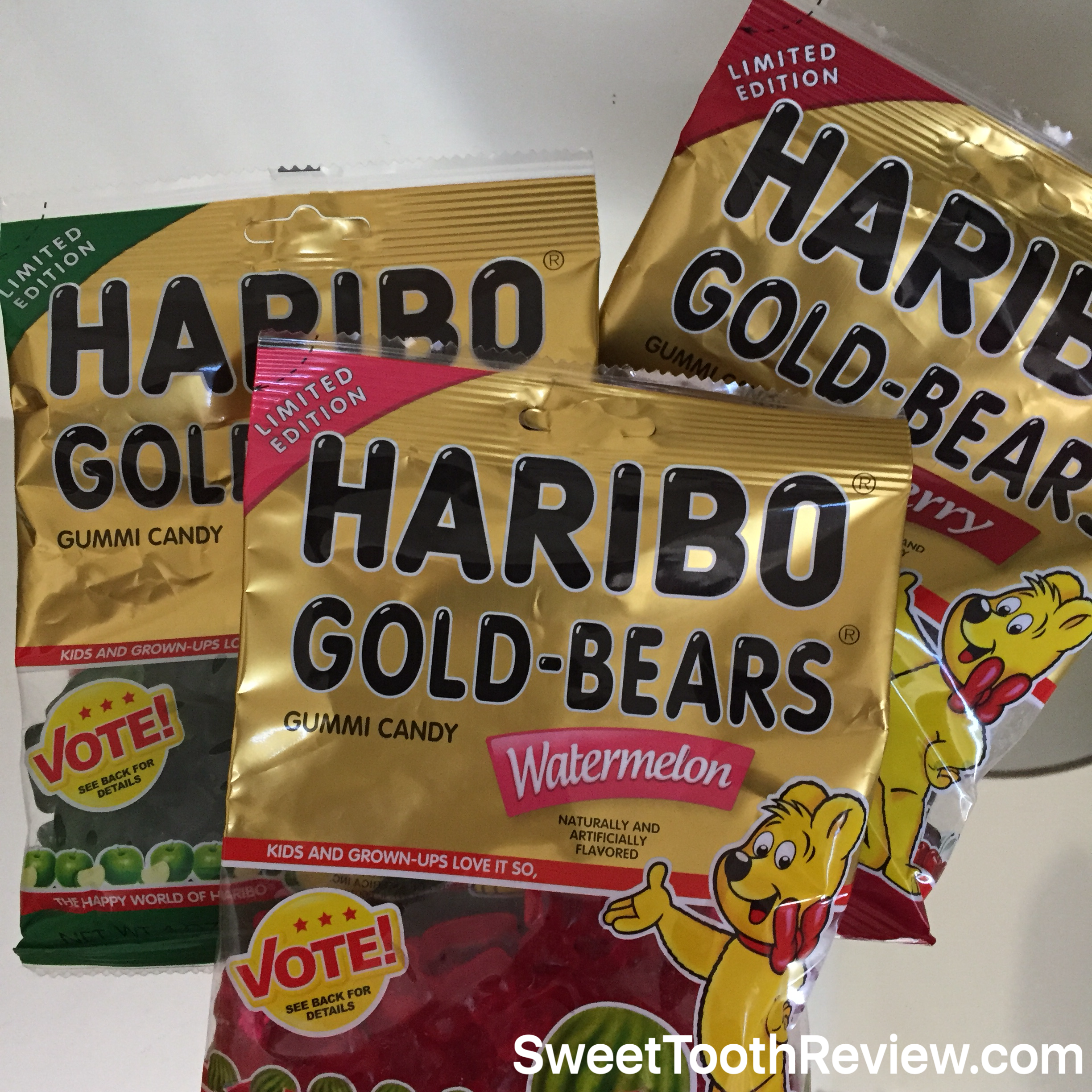 New Haribo Gold Bears - Gummy Bear flavors
