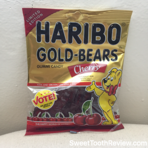 Haribo Gummy Bear Cherry - New Gold Bear Flavors