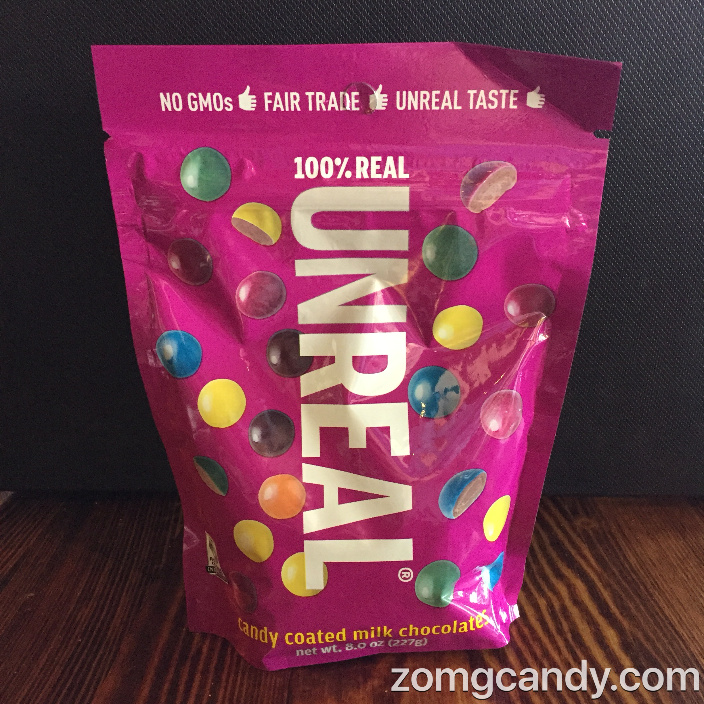 Unreal Candy - Candy Covered Milk Chocolates just like M&Ms