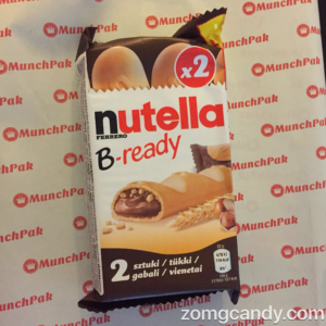 Nutella B-ready - Munchpak Review