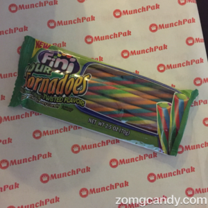 Sour Fini Tornadoes - MunchPak Review