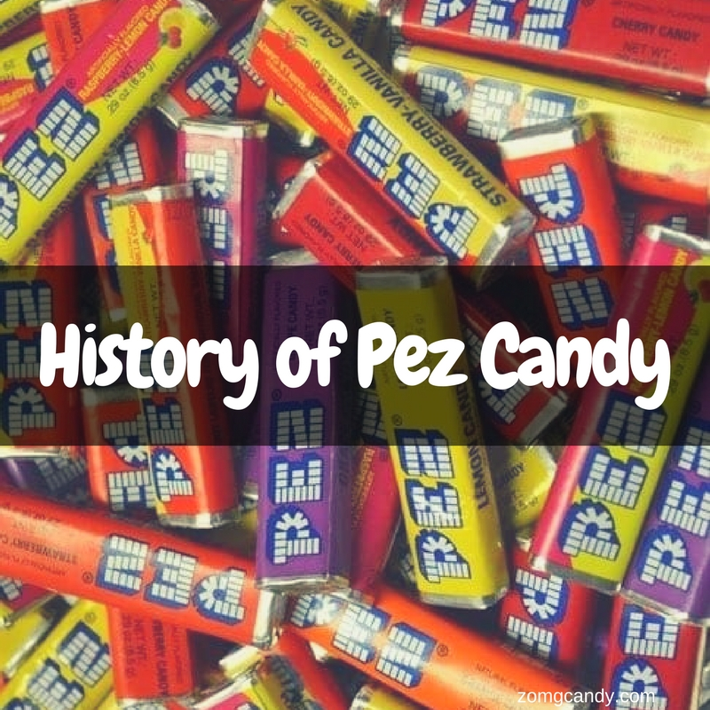 History of Pez Candy