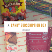 MunchPak Review - Candy Subscription Box