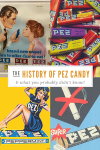 The History of Pez Candy Dispensers