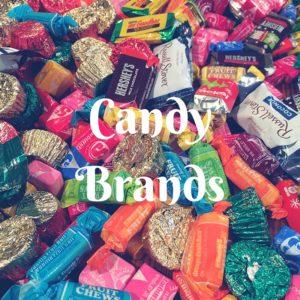 Candy Brands (A-Z)